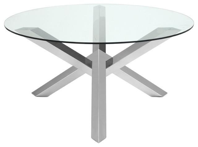 Costa Dining Table – Contemporary – Dining Tables  Advanced Intended For Contemporary Base Dining Tables (Image 6 of 20)