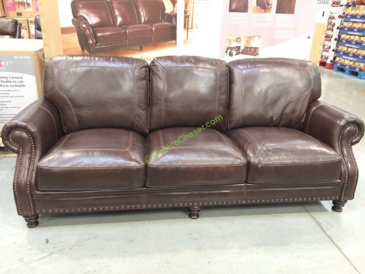 Costco Leather Sofa Within Costco Leather Sectional Sofas (Image 5 of 20)