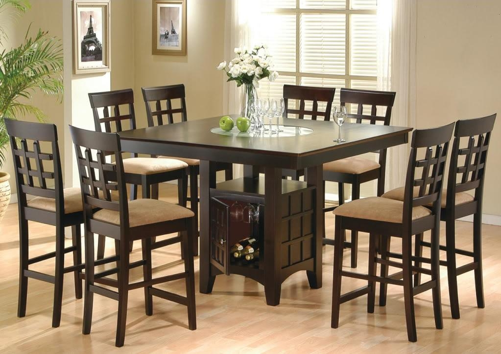Counter Height Dining Table Set — Interior Home Design : Counter Within Dining Table Sets (View 18 of 20)