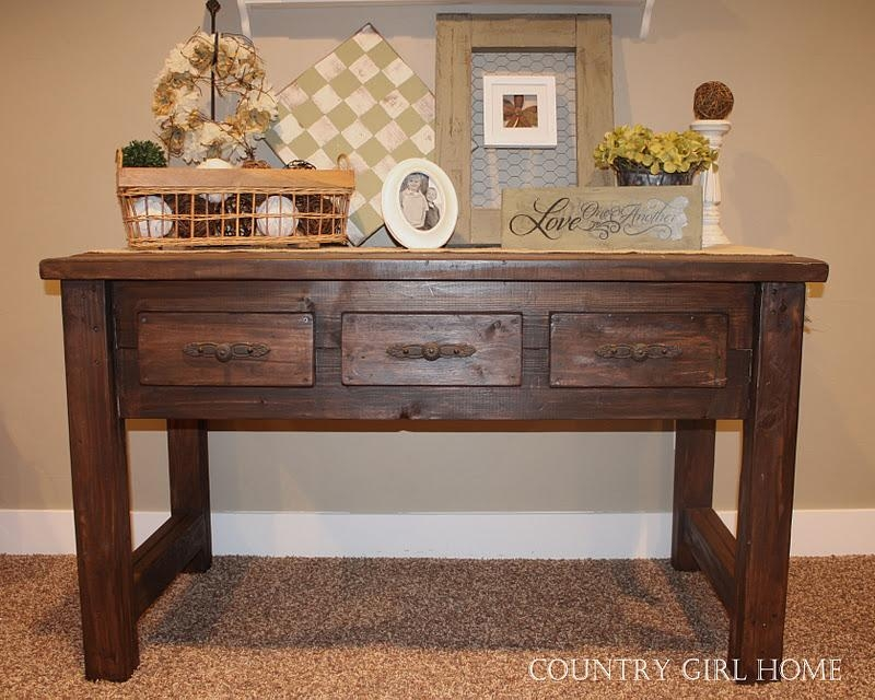 Country Sofa Table Ohio Amish Furniture Index Arts In Heaven Inside Country Sofa Tables (Image 7 of 20)
