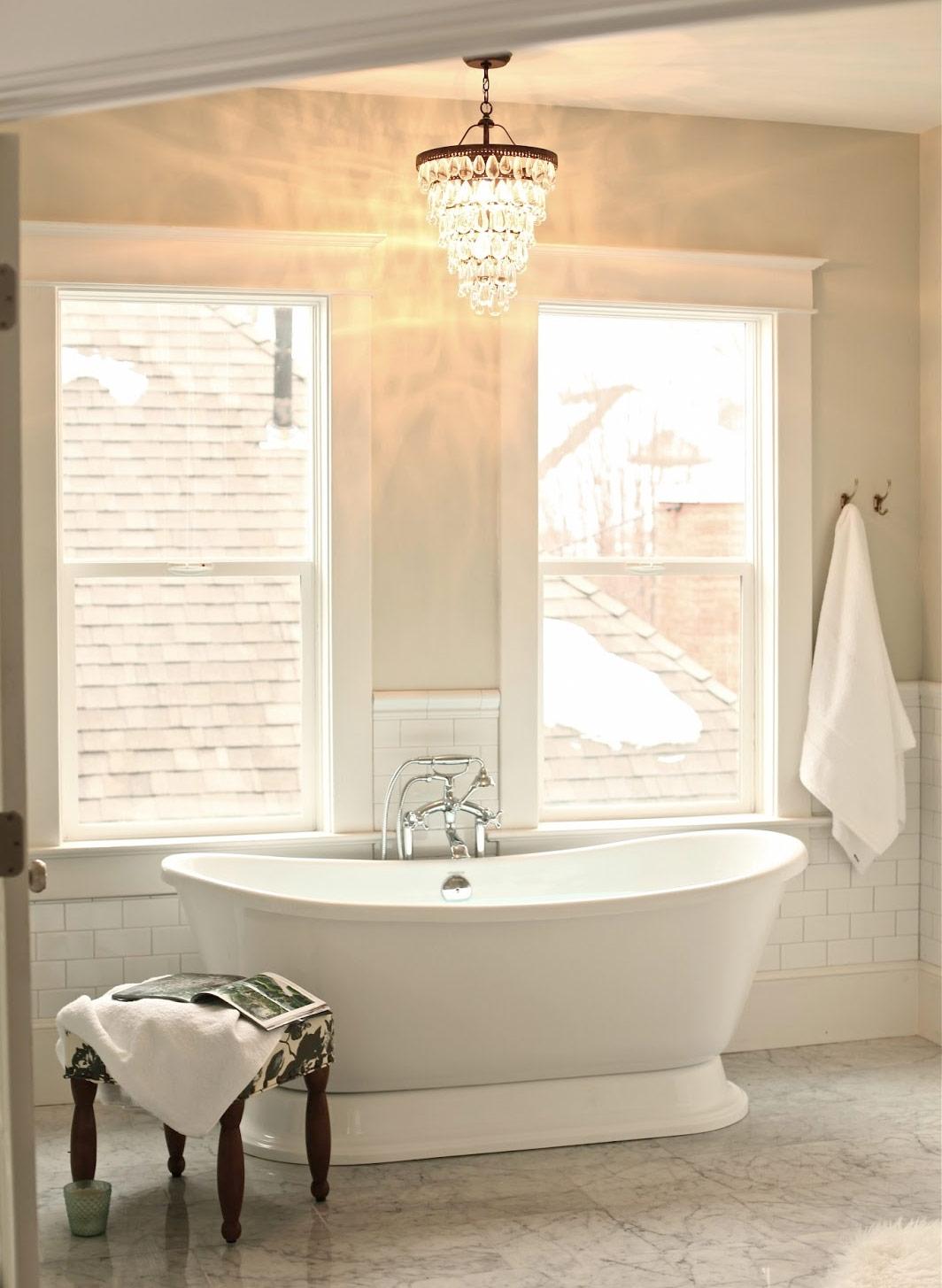 Creating A Vintage Bathroom Lighting Design Certified Lighting With Bathroom Lighting Chandeliers (View 6 of 25)