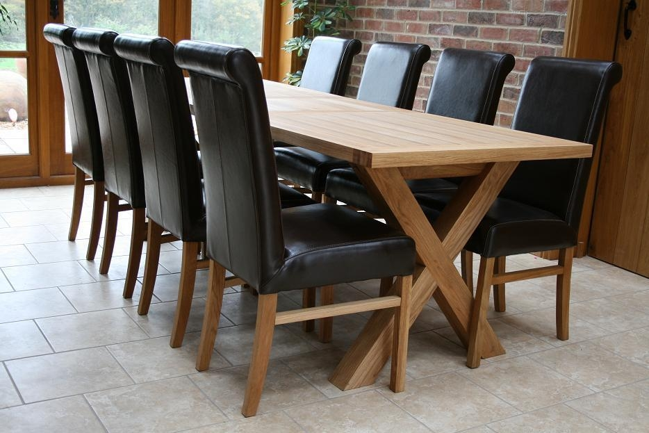 Cross Leg Dining Tables | Extending X Leg Tables | Oxbow Table Within Extending Dining Table With 10 Seats (Image 8 of 20)