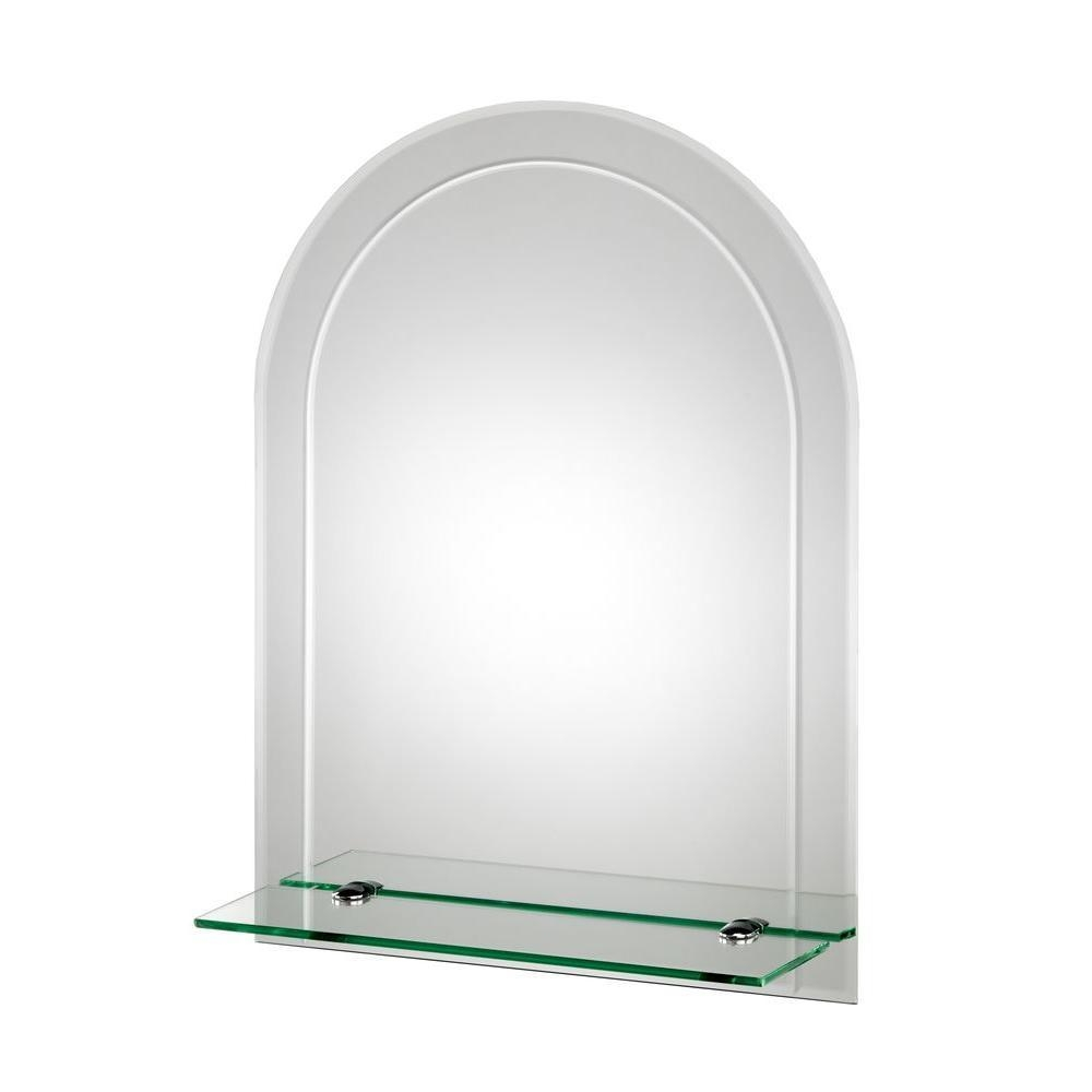 Croydex – Bathroom Mirrors – Bath – The Home Depot Within Beveled Edge Oval Mirror (View 13 of 20)