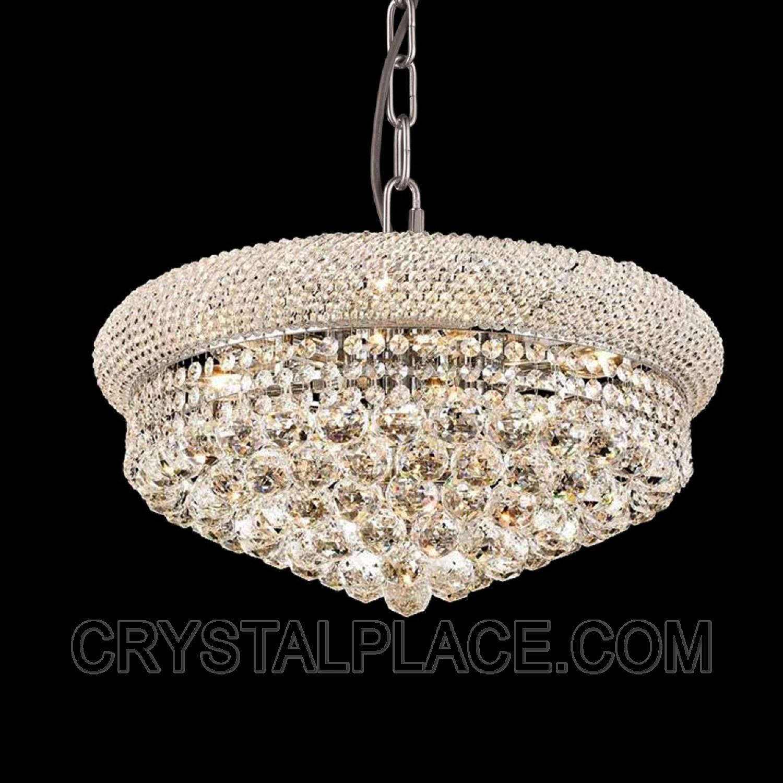 Crystal Ball Chandelier Lighting Fixture Ideas For Home Decoration With Crystal Ball Chandeliers (Image 6 of 25)