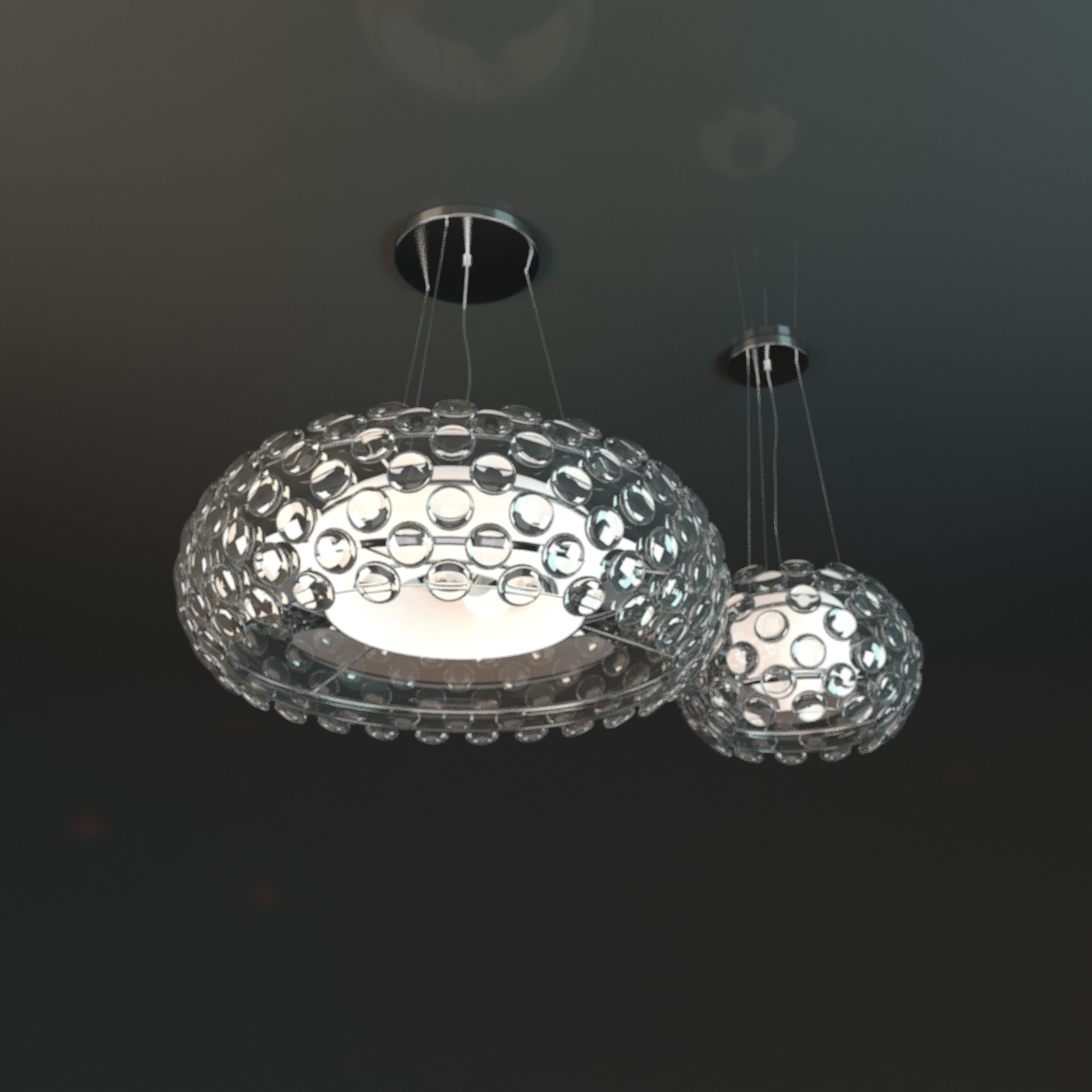 Featured Image of Crystal Ball Chandeliers