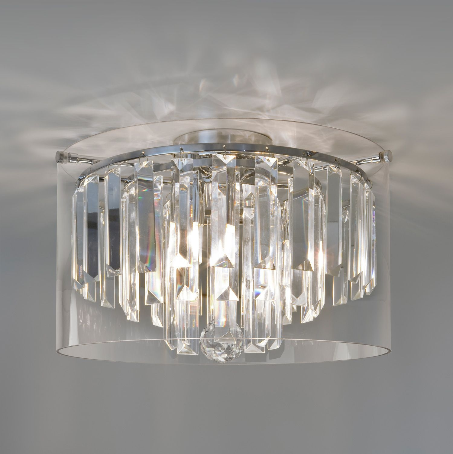 Crystal Chandelier Bathroom Lighting Creative Bathroom Decoration In Bathroom Chandelier Lighting (Image 10 of 25)