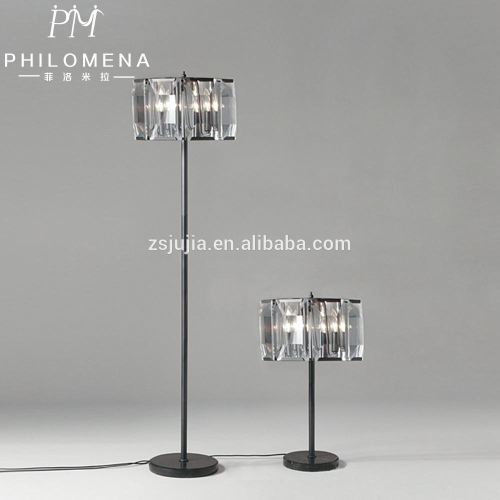 Crystal Chandelier Floor Lamp Crystal Chandelier Floor Lamp Inside Chandelier Standing Lamps (Image 5 of 25)