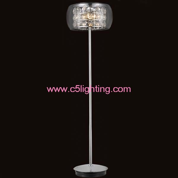 Crystal Chandelier Floor Lamp Crystal Chandelier Floor Lamp Throughout Crystal Chandelier Standing Lamps (Image 11 of 25)