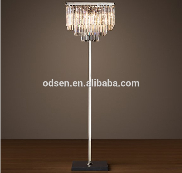 Crystal Chandelier Floor Lamp Crystal Chandelier Floor Lamp With Regard To Crystal Chandelier Standing Lamps (Image 12 of 25)