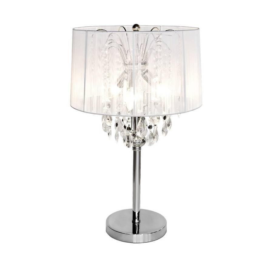 Crystal Chandelier Table Lamps: 25 Inspirations Small Crystal Chandelier Table Lamps