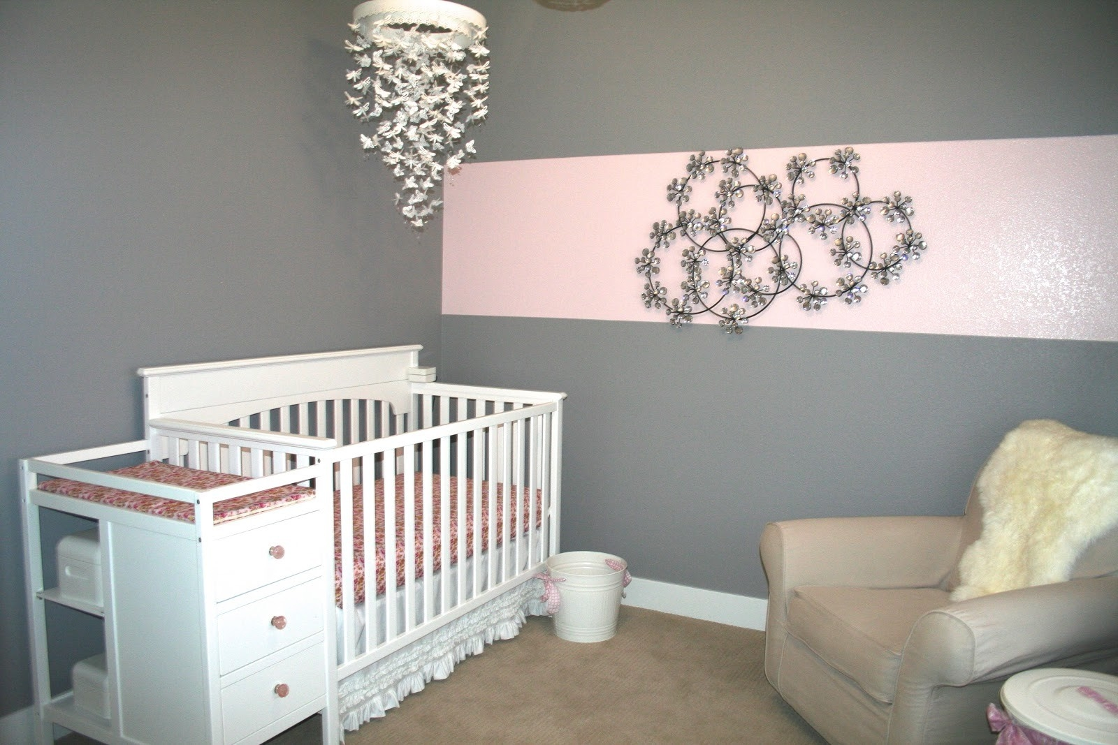 Crystal Chandeliers For Nursery Lamp World Pertaining To Crystal Chandeliers For Baby Girl Room (View 8 of 25)