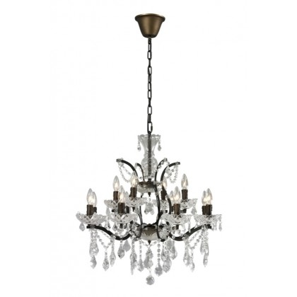 Crystal Small Chandelier With Regard To Small Rustic Crystal Chandeliers (Image 10 of 25)