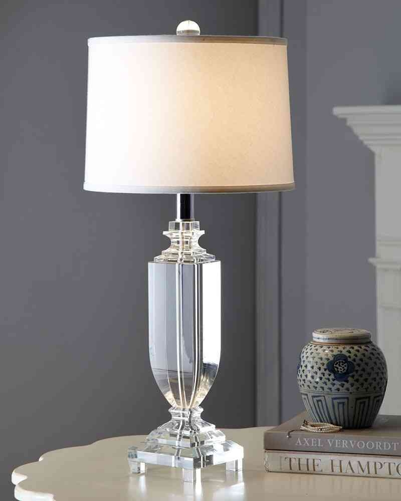25 Inspirations Small Crystal Chandelier Table Lamps ...