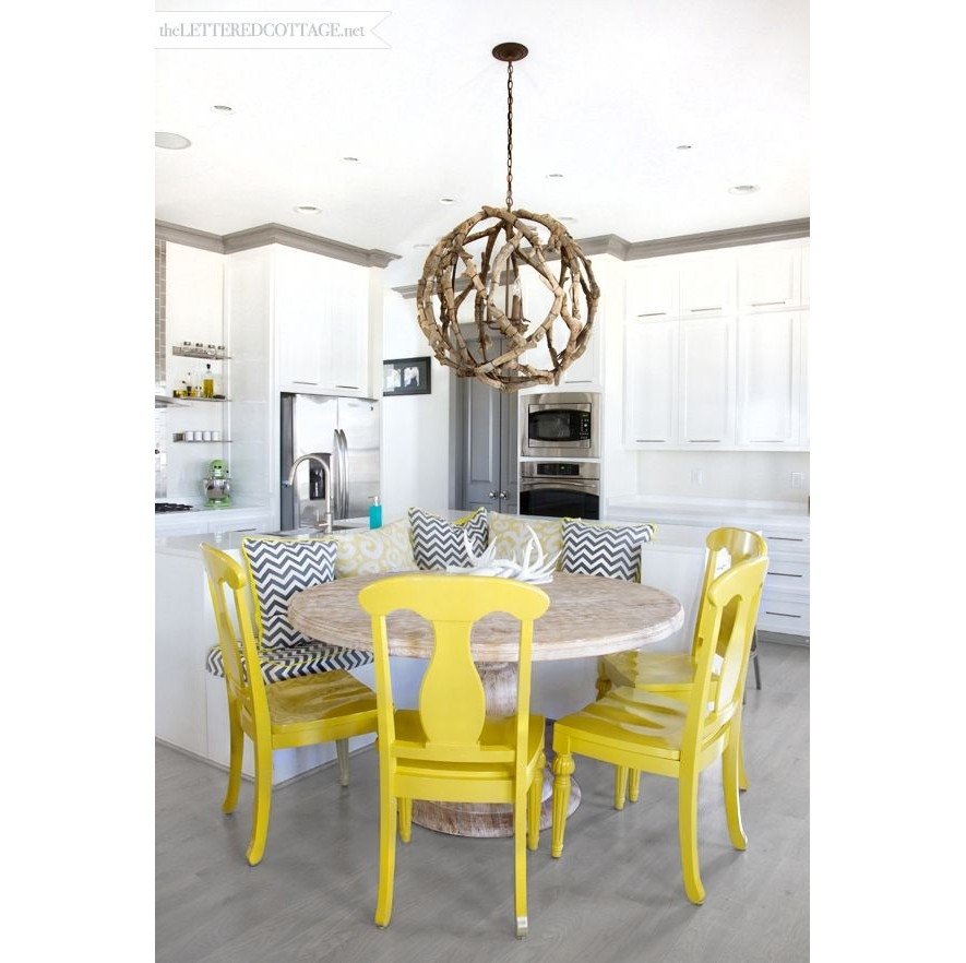 Currey Co Driftwood Orb Chandelier Candelabra Inc Inside Turquoise Orb Chandeliers (Image 8 of 25)