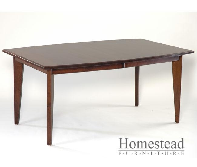 Custom Built, Hardwood Furniturehomestead Furniture | Made In Usa Pertaining To Cambridge Dining Tables (Image 14 of 20)