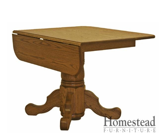 Custom Built, Hardwood Furniturehomestead Furniture | Made In Usa Throughout Cheap Drop Leaf Dining Tables (View 14 of 20)