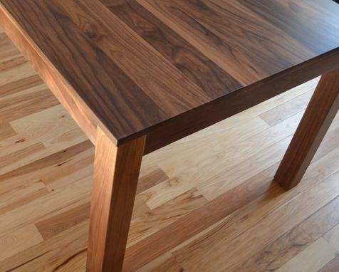 Custom Made Solid Walnut Dining Tablefabitecture | Custommade Pertaining To Walnut Dining Tables (Image 9 of 20)