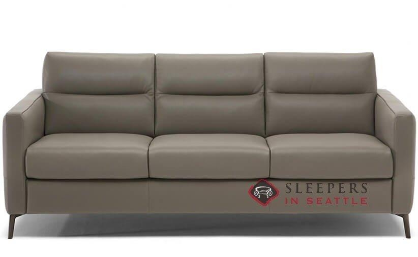 Customize And Personalize Caffaro Queen Leather Sofanatuzzi With Natuzzi Sleeper Sofas (View 15 of 20)