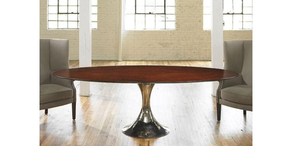 Dakota Oval Dining Table | Julian Chichester | The Longest Stay For Chichester Dining Tables (View 14 of 20)