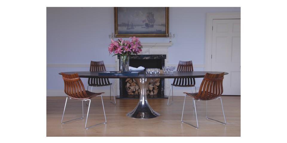 Dakota Oval Dining Table | Julian Chichester | The Longest Stay In Chichester Dining Tables (View 2 of 20)