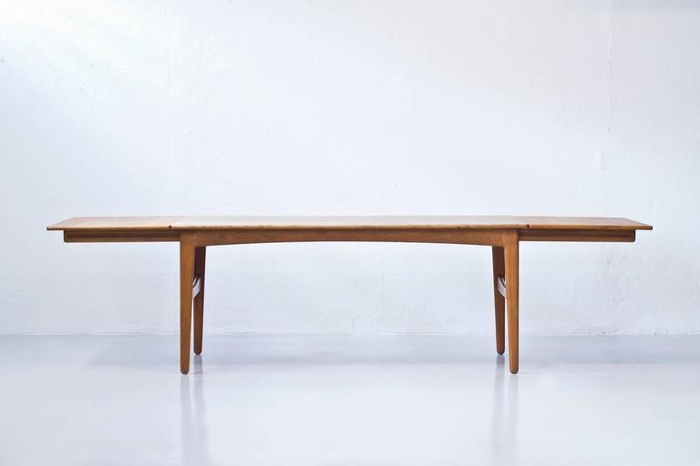 Danish 1950S Extendable Dining Tableknud Andersen At 1Stdibs Intended For Danish Dining Tables (View 5 of 20)