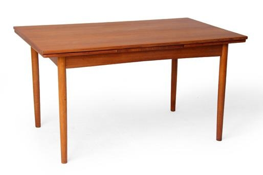 Danish Mid Century Modern Vintage Dining Tables, Teak, Rosewood In Danish Dining Tables (View 2 of 20)