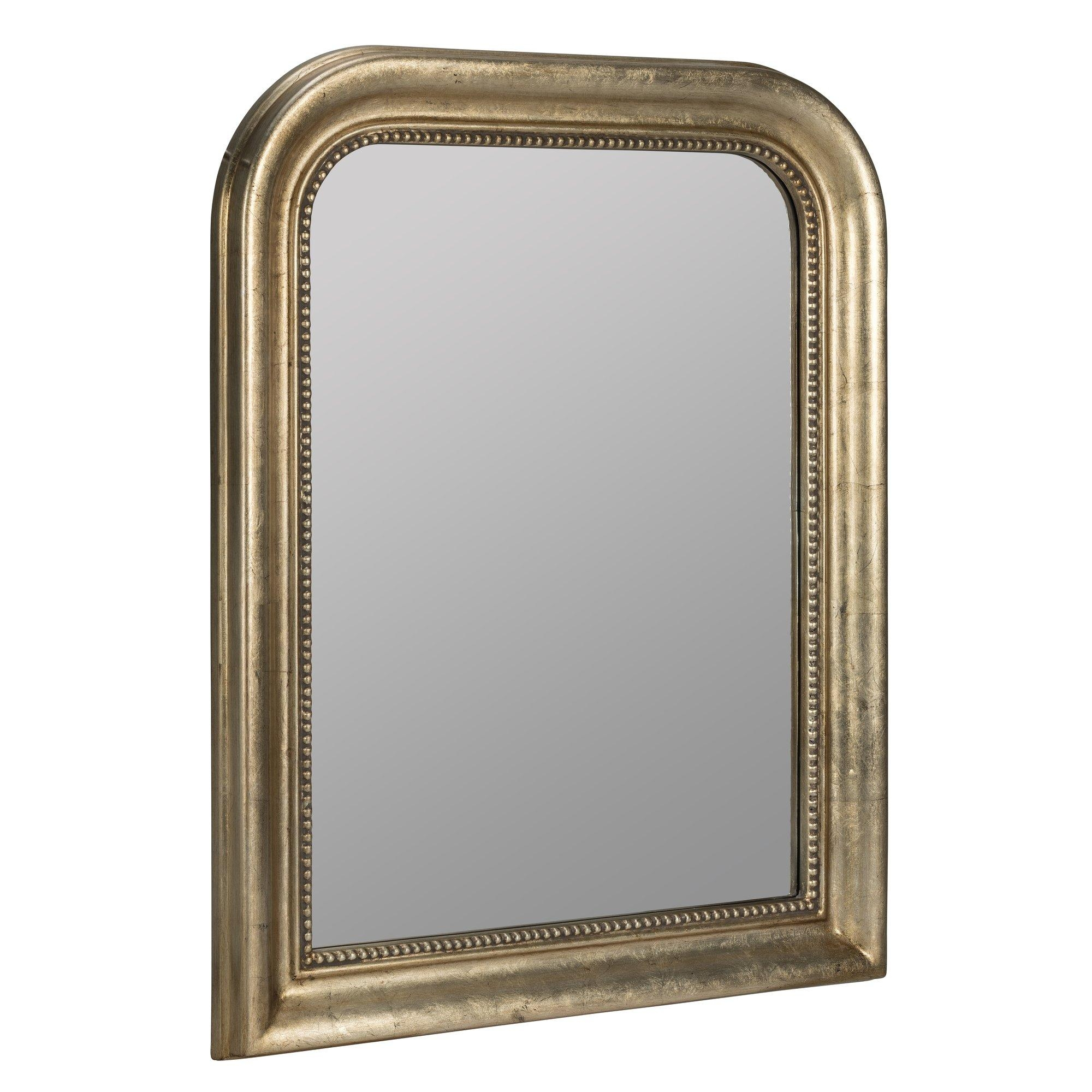 Darby Home Co Antique Champagne Wall Mirror & Reviews | Wayfair Intended For Champagne Mirror (Image 5 of 20)