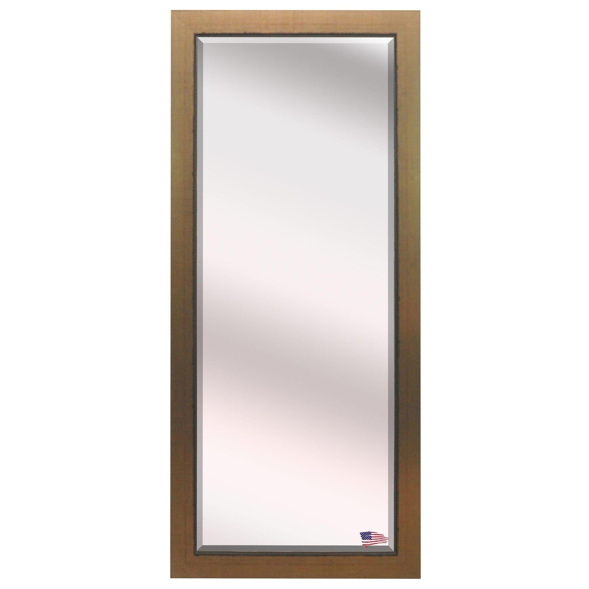 Darby Home Co Beveled Gold Wall Mirror & Reviews | Wayfair Regarding Gold Wall Mirrors (Image 4 of 20)