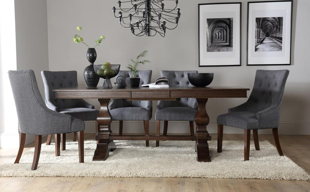 Dark Wood Dining Table & Chairs – Dark Wood Dining Sets With Regard To Dark Wooden Dining Tables (Image 5 of 20)