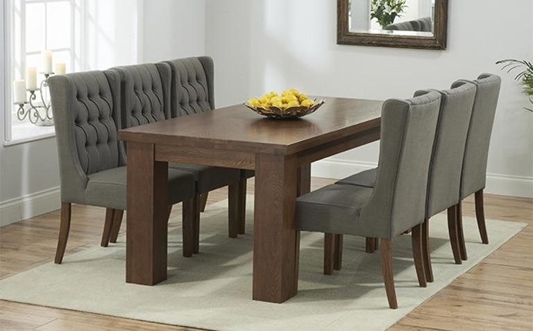 Dark Wood Dining Table Sets | Great Furniture Trading Company For Dark Wooden Dining Tables (Image 7 of 20)