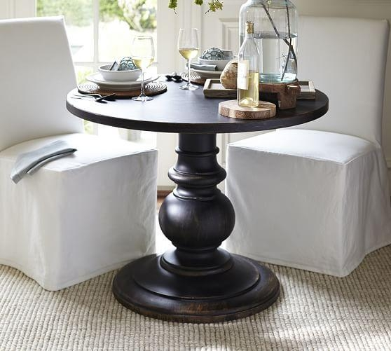 Dawson Large Pedestal Table | Pottery Barn Within Dawson Dining Tables (Image 16 of 20)