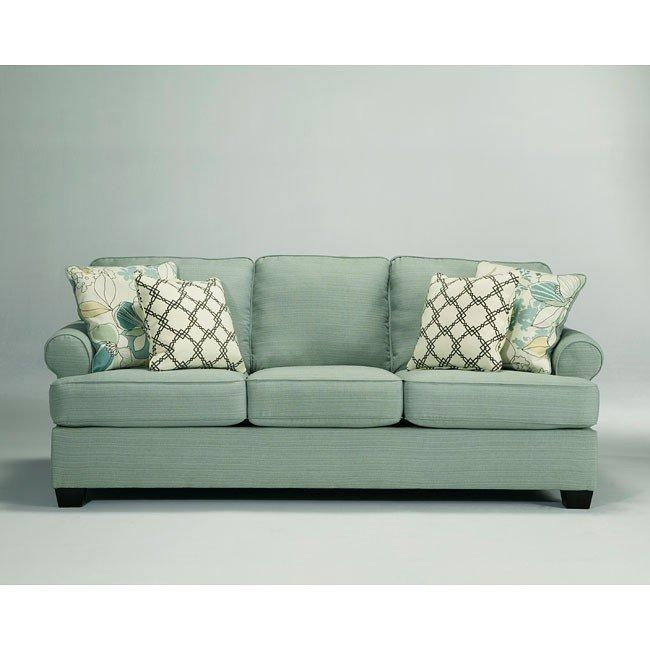 Daystar Seafoam Living Room Set Signature Designashley Within Seafoam Sofas (Image 3 of 20)