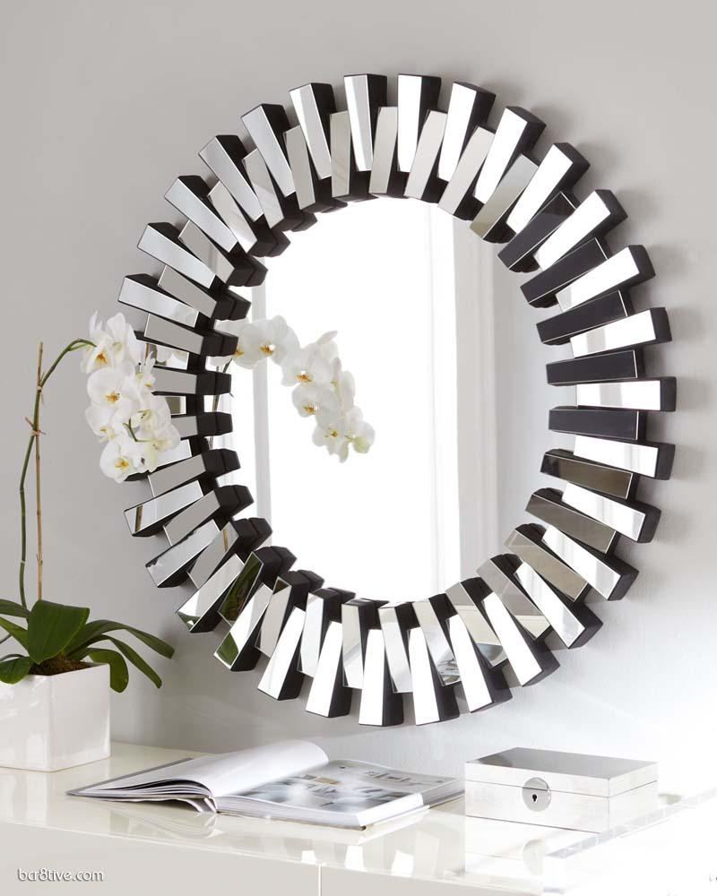 Decor : 49 23 Fancy Decorative Mirror Designs Decorative Wall Intended For Designer Round Mirrors (Image 7 of 20)