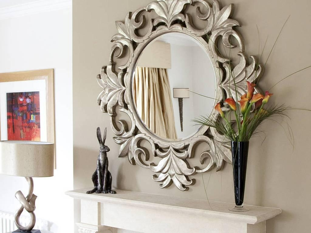 Decor : 49 23 Fancy Decorative Mirror Designs Decorative Wall Regarding Fancy Wall Mirror (Image 5 of 20)