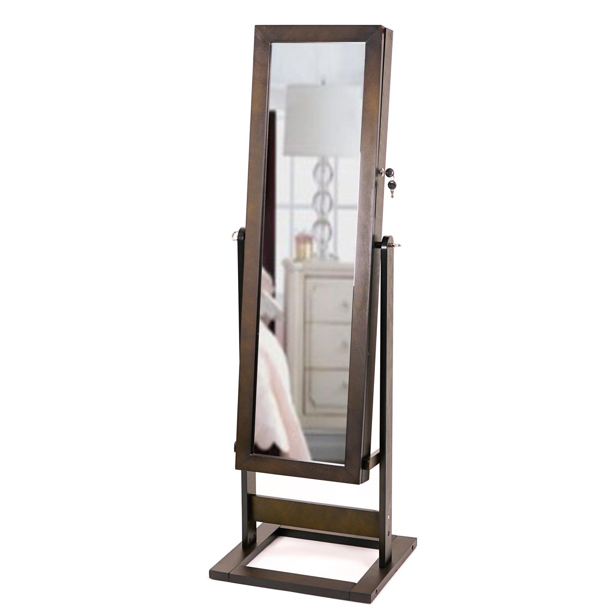Decor: Fill Your Home With Modern Armoire For Wonderful Home With Modern Free Standing Mirror (Image 6 of 20)