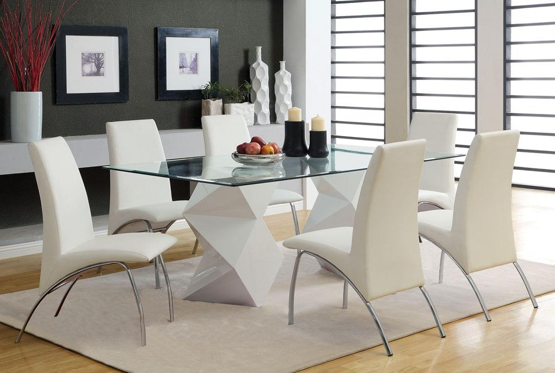 Decorating Ideas For Glass Dining Tables | Babytimeexpo Furniture Regarding Glass Dining Tables And Chairs (View 15 of 20)