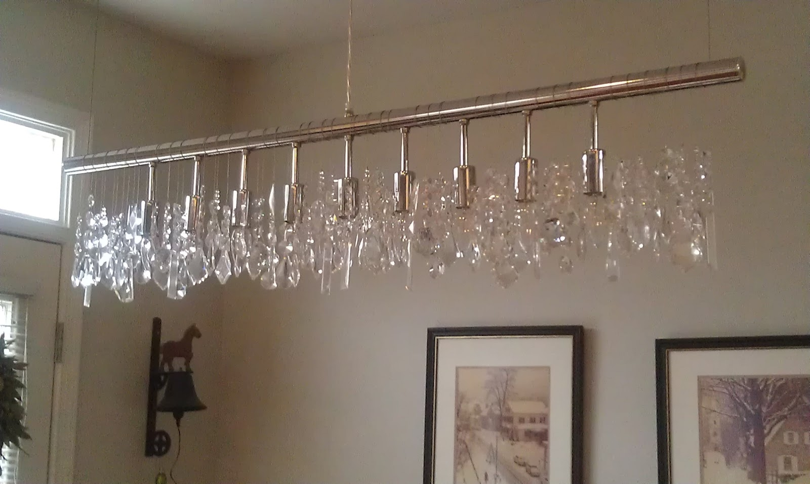 Decorating Linear Chandeliers Linear Chandelier Linear Strand With Florian Crystal Chandeliers (View 24 of 25)