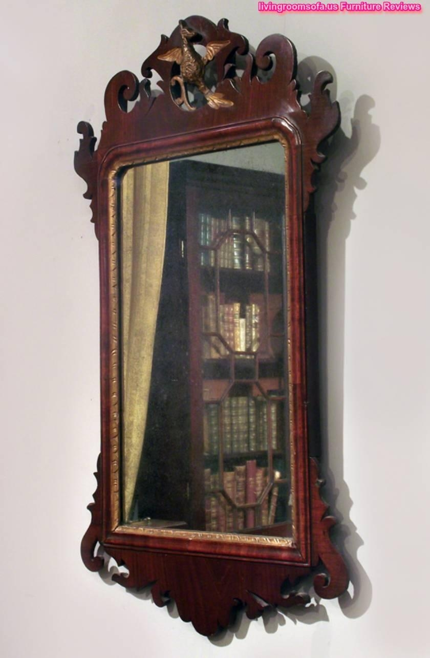 Decorative Antique Wood Wall Mirror Design For Antique Wall Mirror (View 7 of 20)