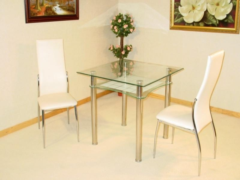 Decorative Dining Table With Two Chairs Appealing 2 Seater Set In Small Two Person Dining Tables (Image 12 of 20)