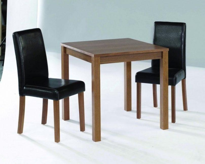 Decorative Dining Table With Two Chairs Appealing 2 Seater Set Throughout Two Chair Dining Tables (View 15 of 20)