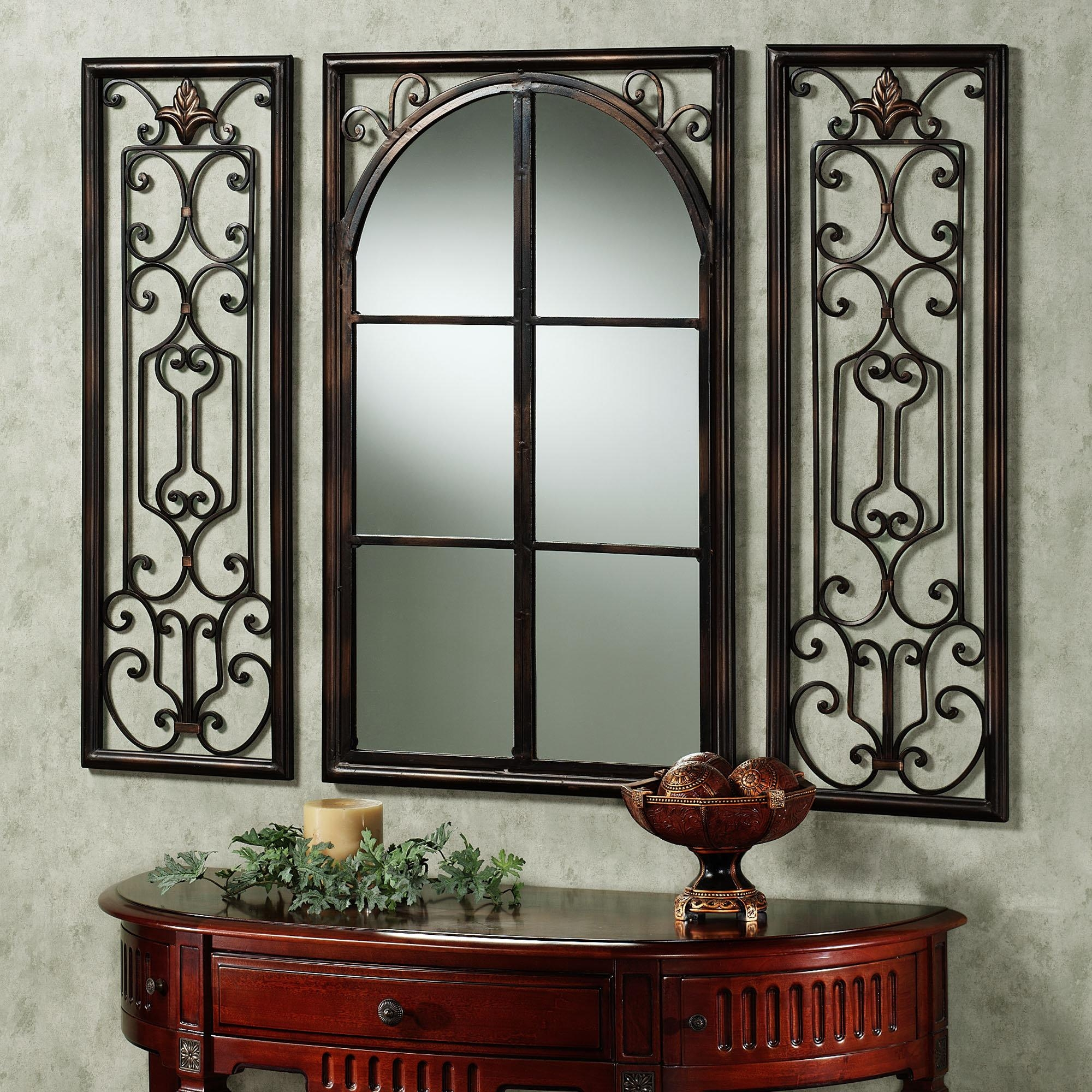 Decorative Frames For Mirrors 65 Stunning Decor With Hand Forged In Rod Iron Mirrors (Image 8 of 20)