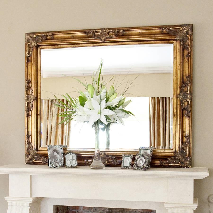 Decorative Gold Mirrors (View 4 of 20)