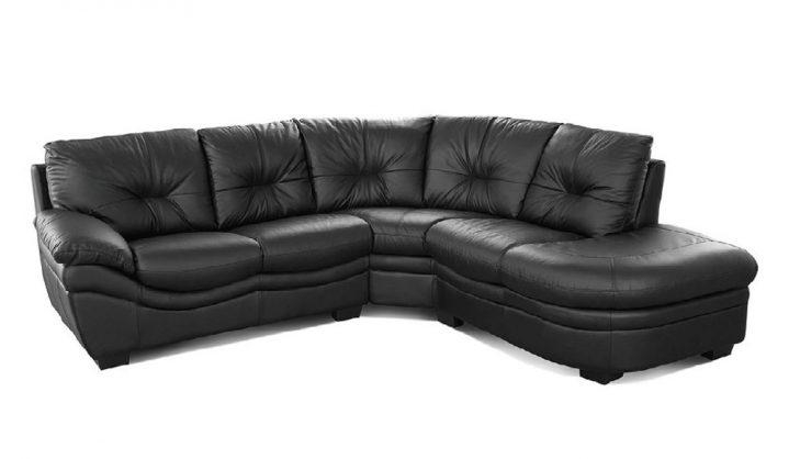 Decorative Leather Corner Sofa Havana Black Leather Corner Sofas For Black Leather Corner Sofas (Image 9 of 20)