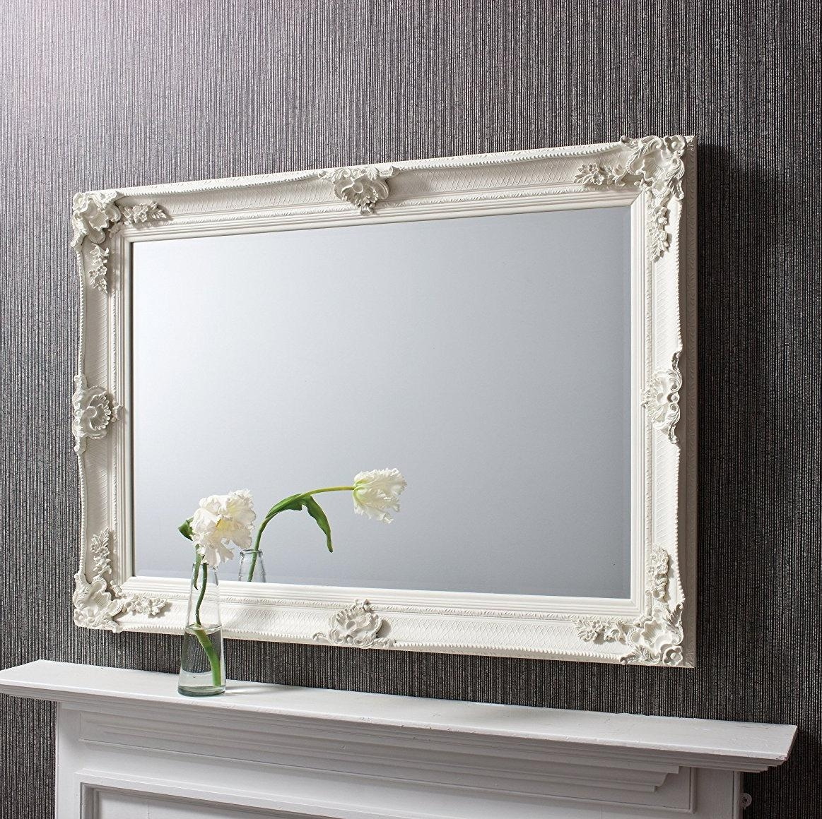 Decorative Mirrors | Exclusive Mirrors With Regard To Cream Ornate Mirror (Image 3 of 20)