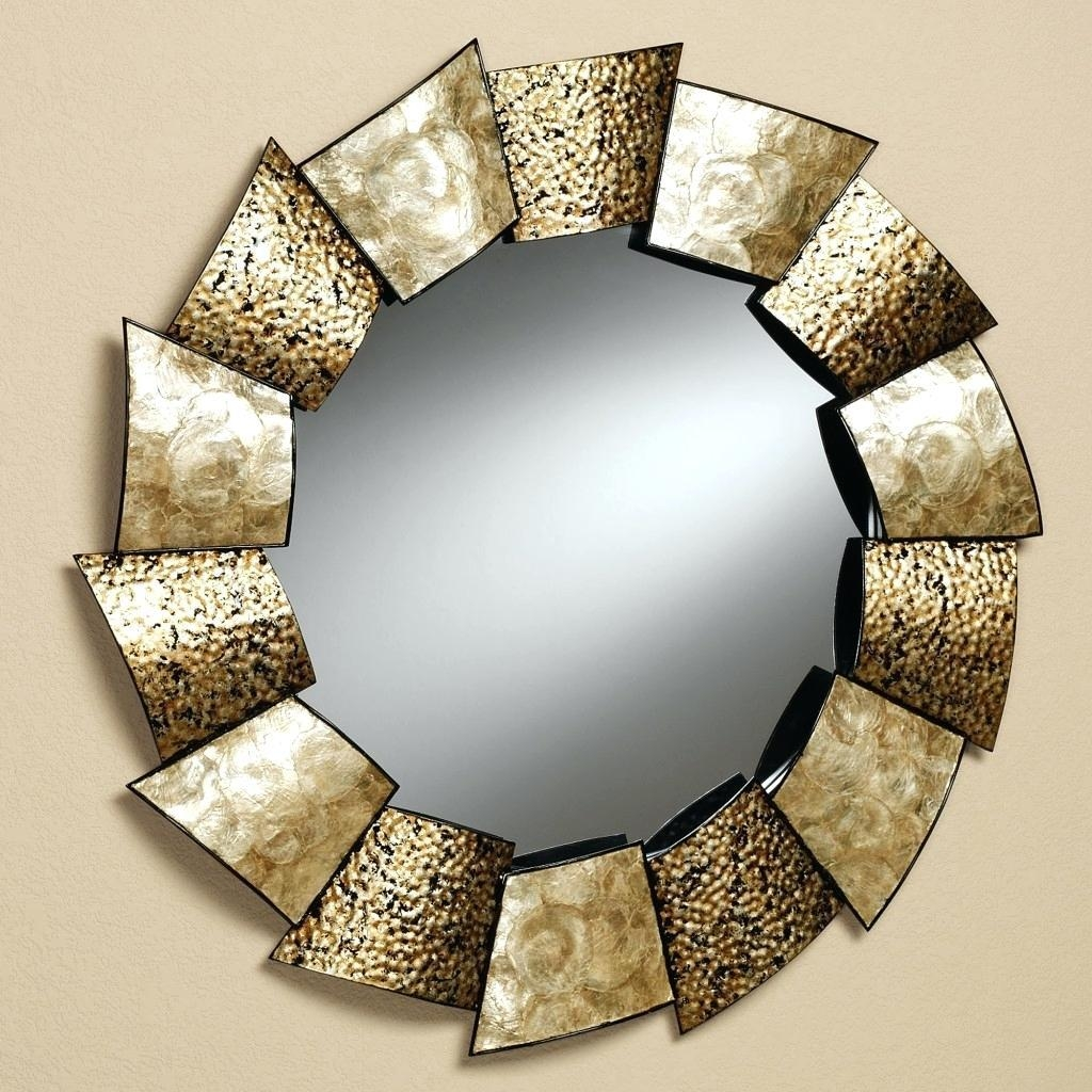 Decorative Mirrors Large Wall Round Mirrorswall For Bathroom Within Decorative Round Mirrors (Image 2 of 20)