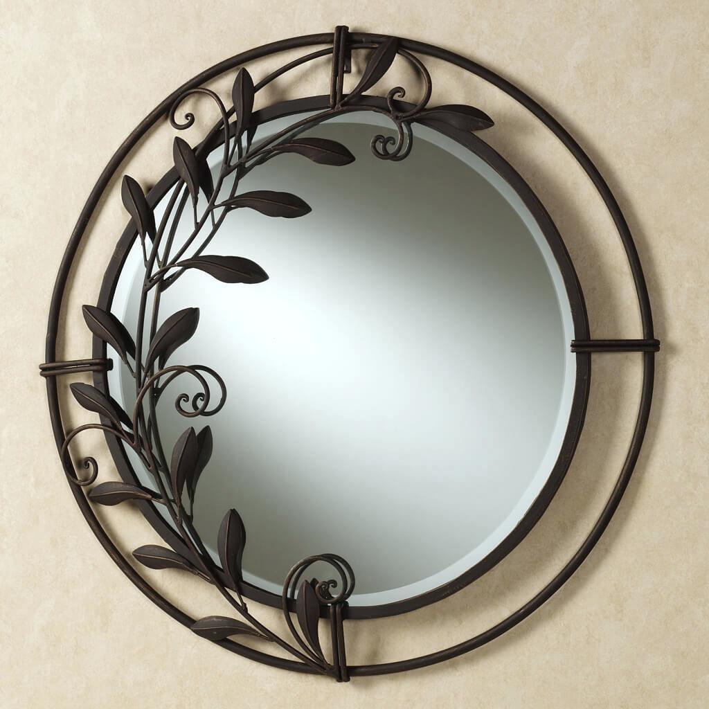 Decorative Round Mirror For Walls – Shopwiz Pertaining To Decorative Round Mirrors (Image 3 of 20)
