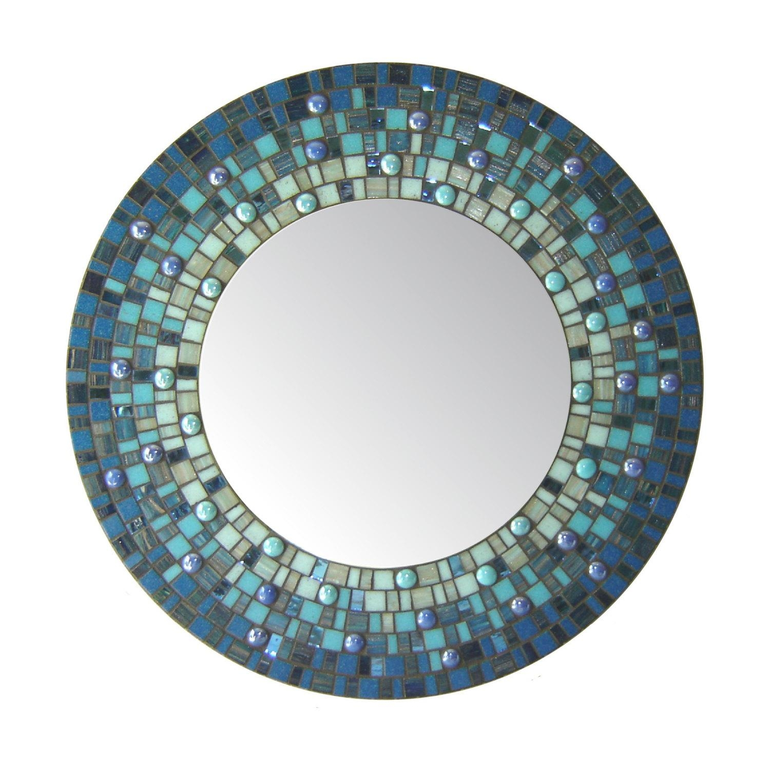 Featured Image of Round Mosaic Mirrors