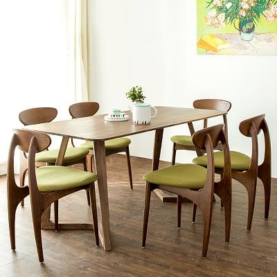 Delighful Scandinavian Dining Room Tables Round With Chairs Design In Scandinavian Dining Tables And Chairs (View 2 of 20)