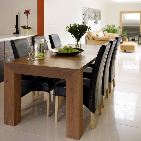 Delightful Ideas Dark Wood Dining Table Shining Dark Wood Dining Intended For Dark Wooden Dining Tables (Image 12 of 20)