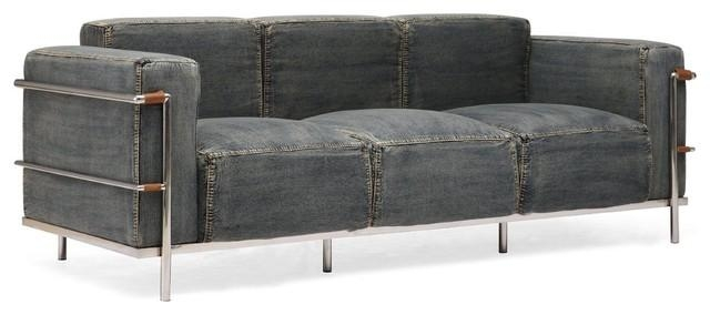 Denim Sofa | Design Your Life Pertaining To Denim Sofas And Loveseats (Image 14 of 20)